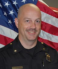 Johns Creek Police Chief Ed Densmore