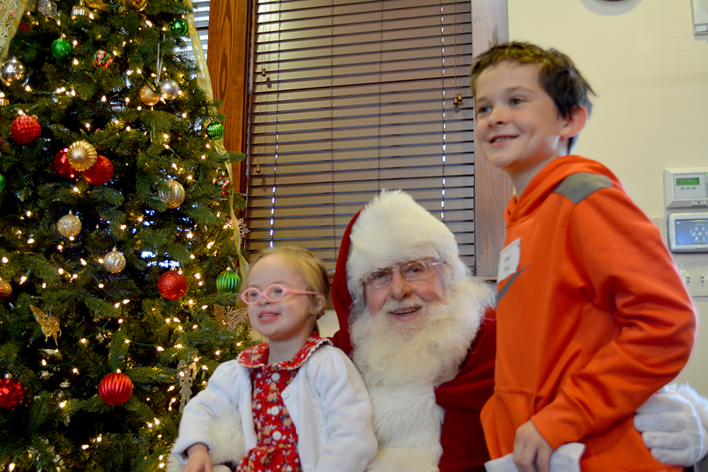 Lunch with Santa registration is now open