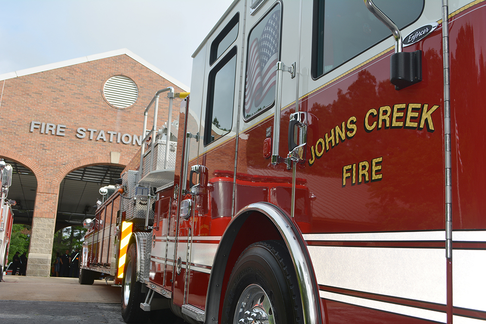 JCFD unveils new fire ladder truck