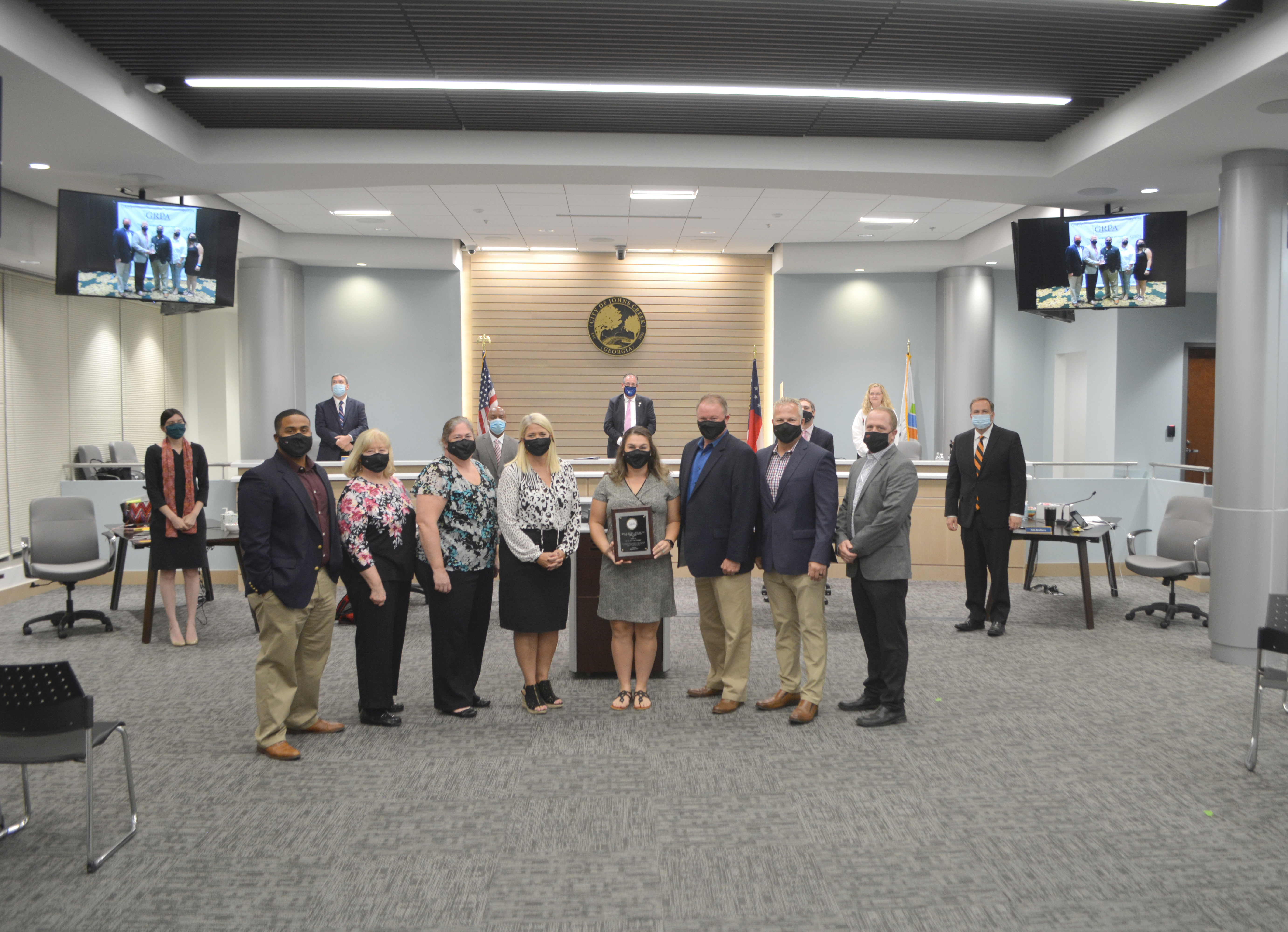Johns Creek receives multiple awards from Georgia Recreation and Parks Association