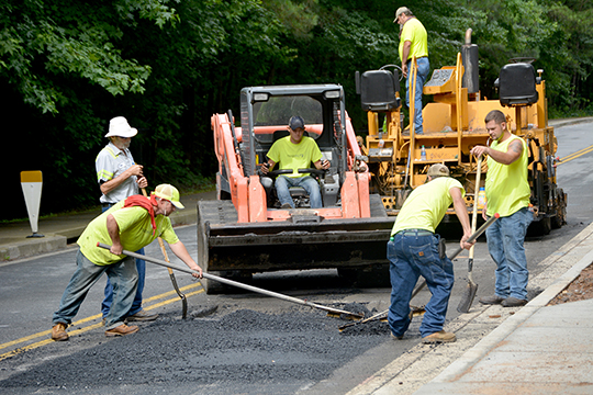 City begins fourth year of neighborhood repaving