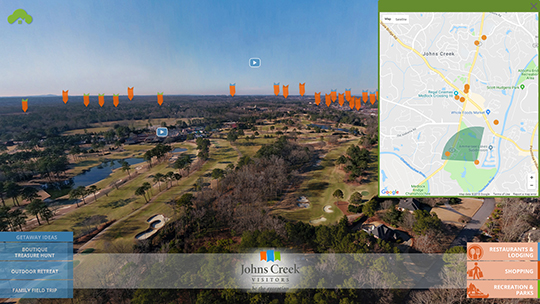 Johns Creek CVB unveils virtual tour of Johns Creek