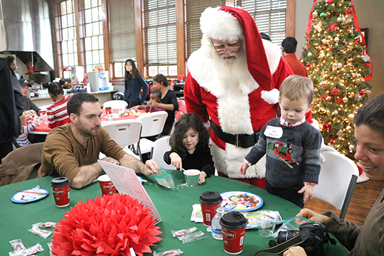 Join us for the 2019 Breakfast with Santa on Dec. 14
