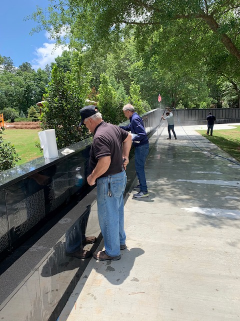 Johns Creek opening The Wall That Heals Memorial at Newtown Park