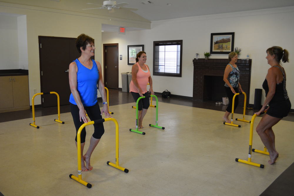 Register for March-April Clubhouse Fitness