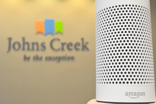 Johns Creek named finalist in Amazon's City on a Cloud Innovation Challenge