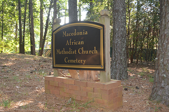 Johns Creek begins routine ground maintenance on abandoned Macedonia African Methodist Church Cemetery
