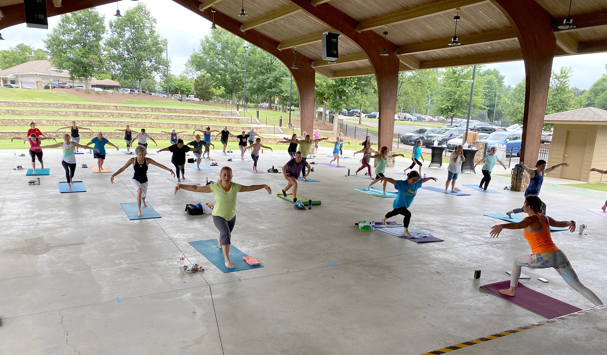 Free Outdoor Fitness continues in October