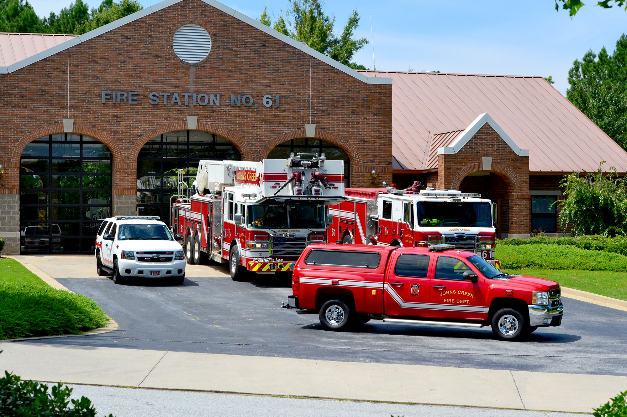 Johns Creek Fire Department to unveil new fire engine Feb. 15
