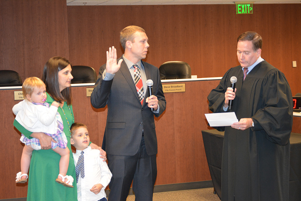 Johns Creek City Council member Chris Coughlin sworn in
