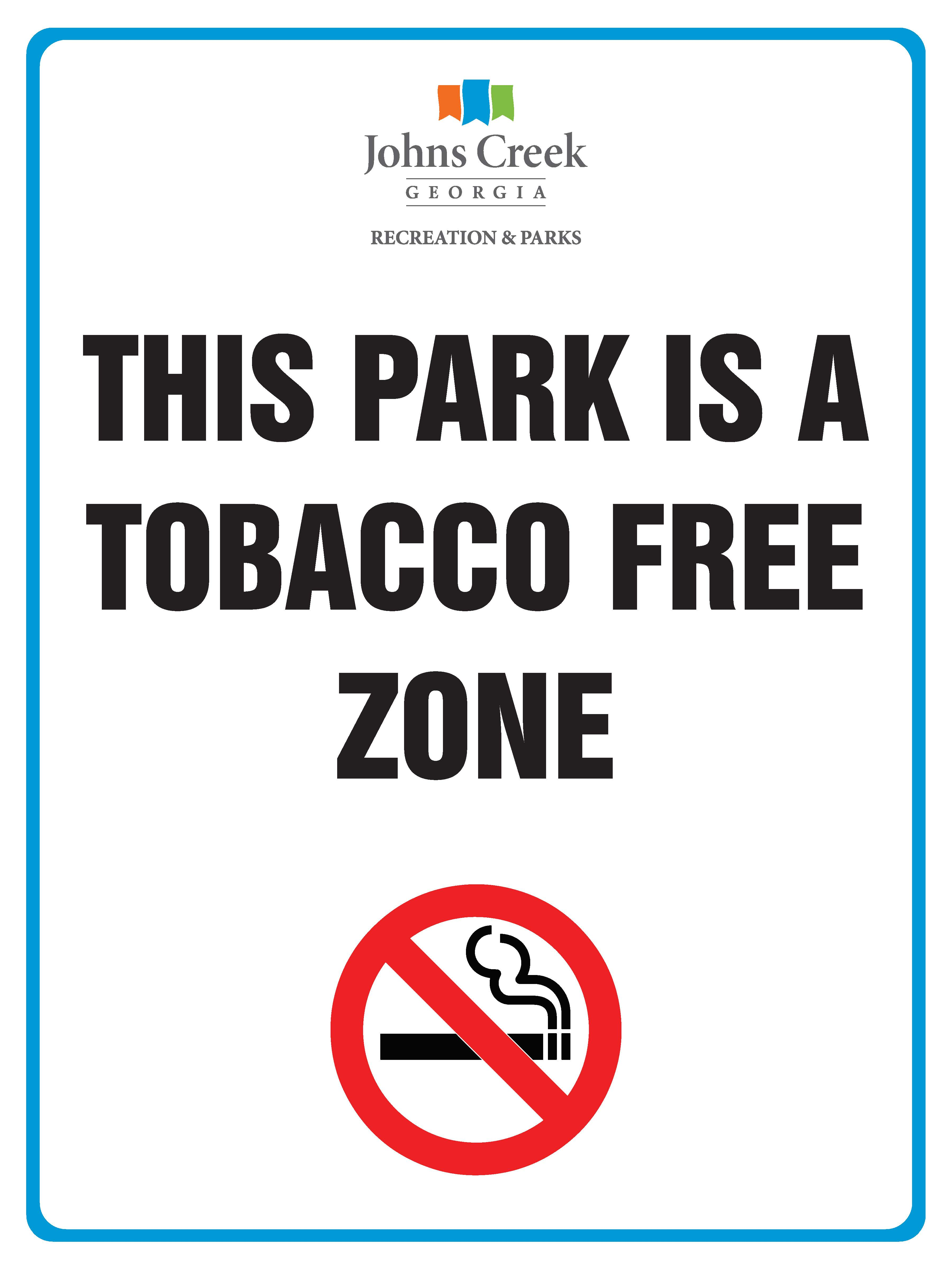 City Parks now tobacco-free