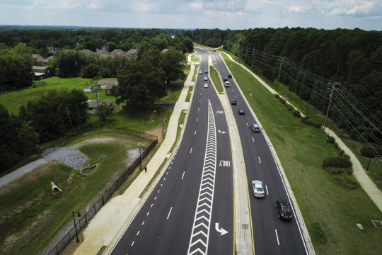Collaboration leads to successful Kimball Bridge Road Iimprovements