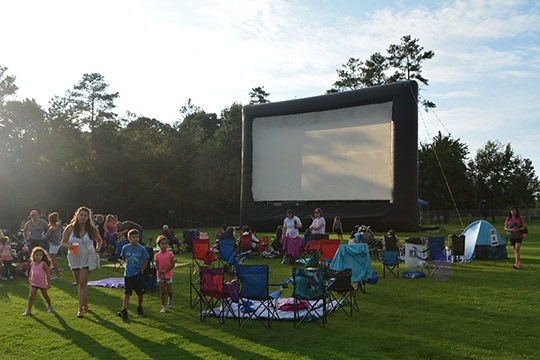 Movie Night returns to Newtown Park