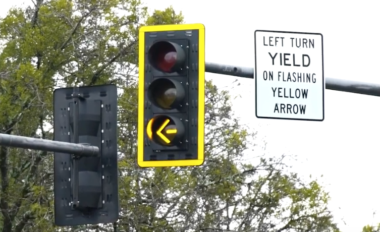 City to install flashing yellow left-turn arrow signals along Medlock Bridge Road