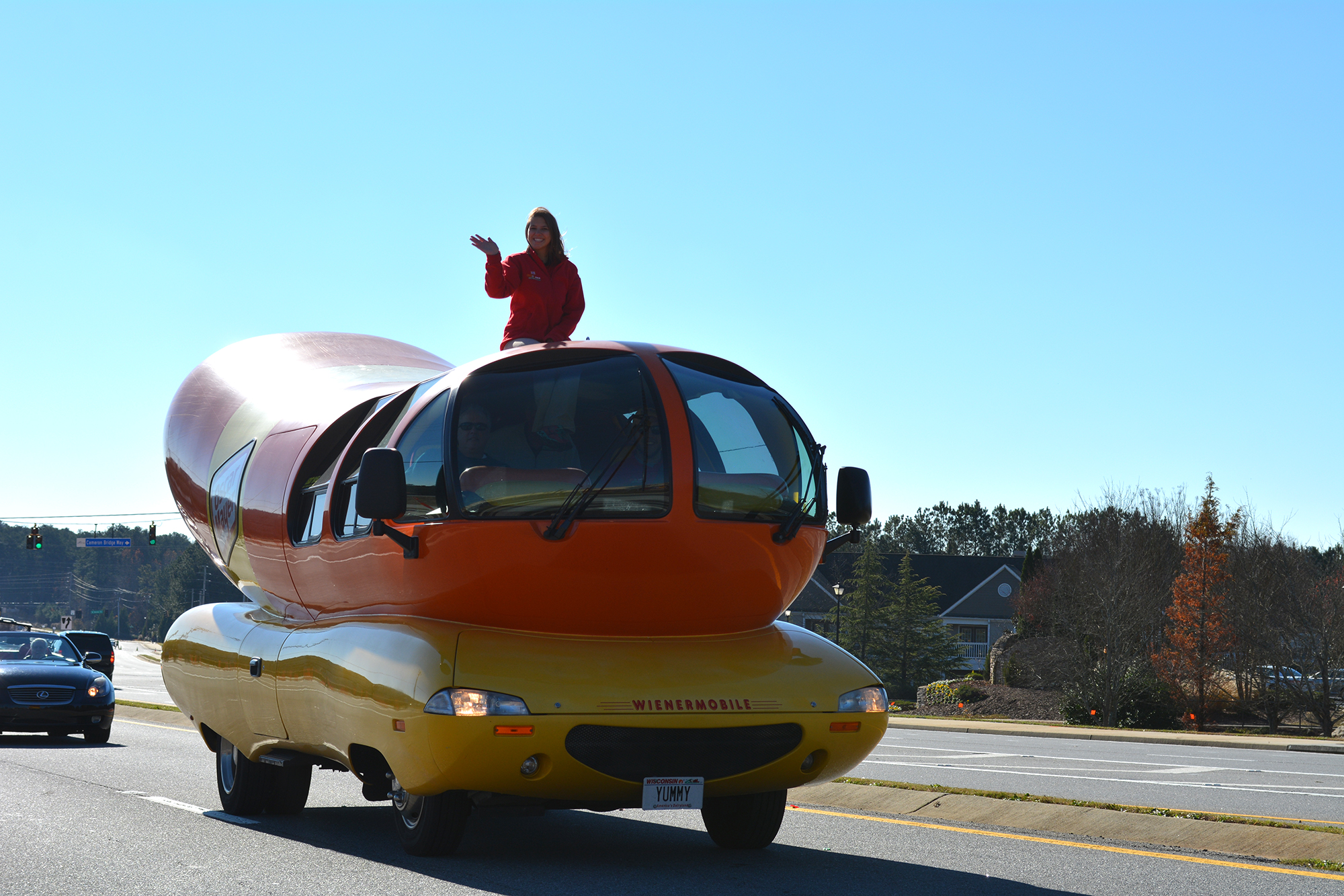 Wienermobile joins the Founders Day Parade lineup