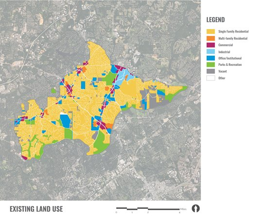Existing Land Use Map