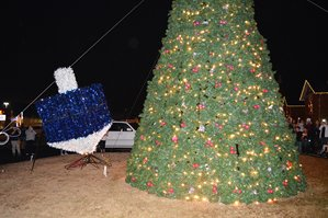 Tree & Dreidel Display