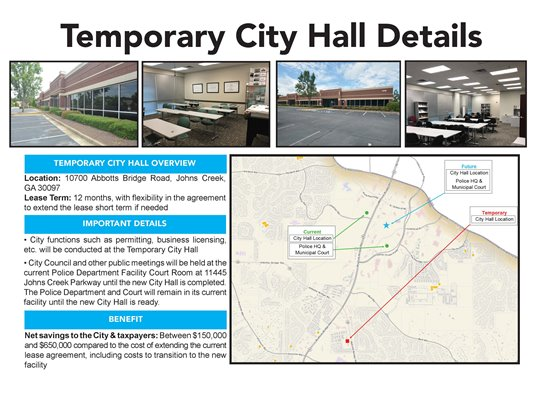Temporary City Hall