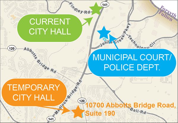 City Hall Map