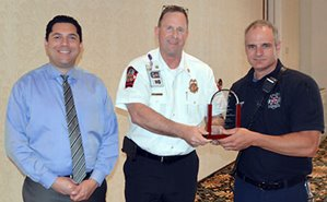 JCFD Firefighter of the Quarter Horne